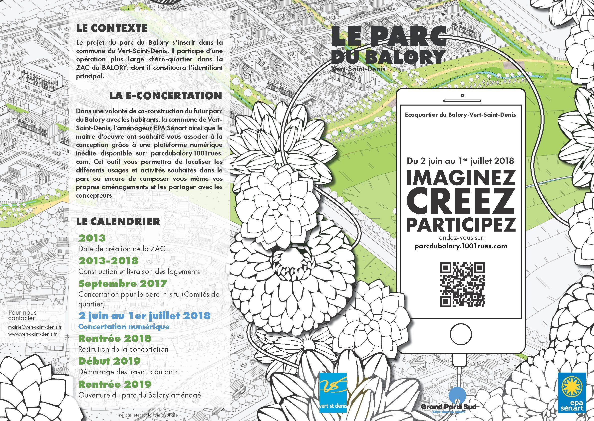 Ecoquartier Du Balory Mairie Vert Saint Denis