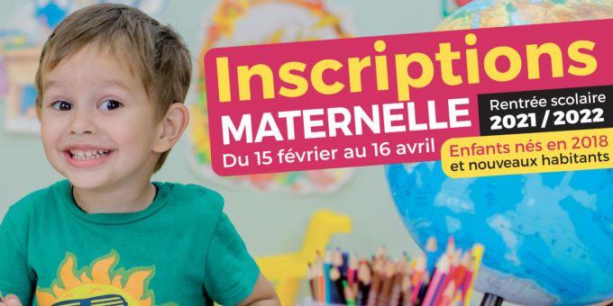 Inscriptions Maternelle