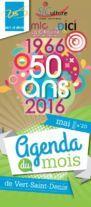 Une agenda de mai 2016