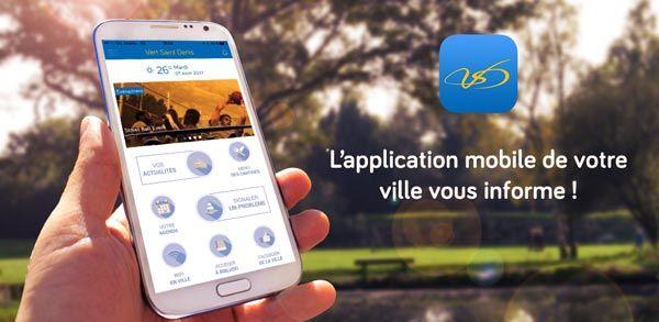 Installez l'application de la ville sur votre smartphone