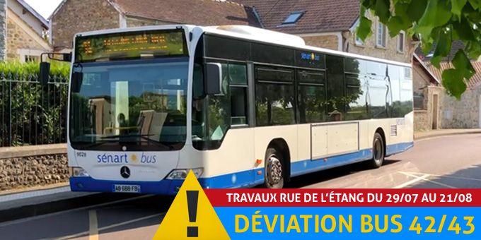 Déviation bus 42/43