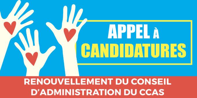 Déclarez votre candidature au CCAS !